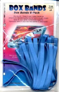 Box Bands : Large Size (Blue) Pack of 6